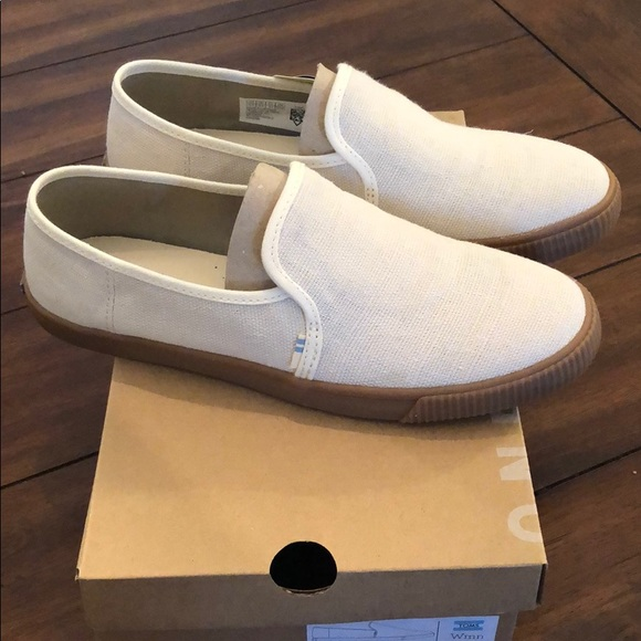 04414bc27 Toms Shoes | New Clemente Birch Heritage Canvas | Poshmark